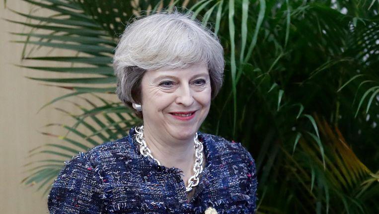 Brits premier Theresa May Beeld ap