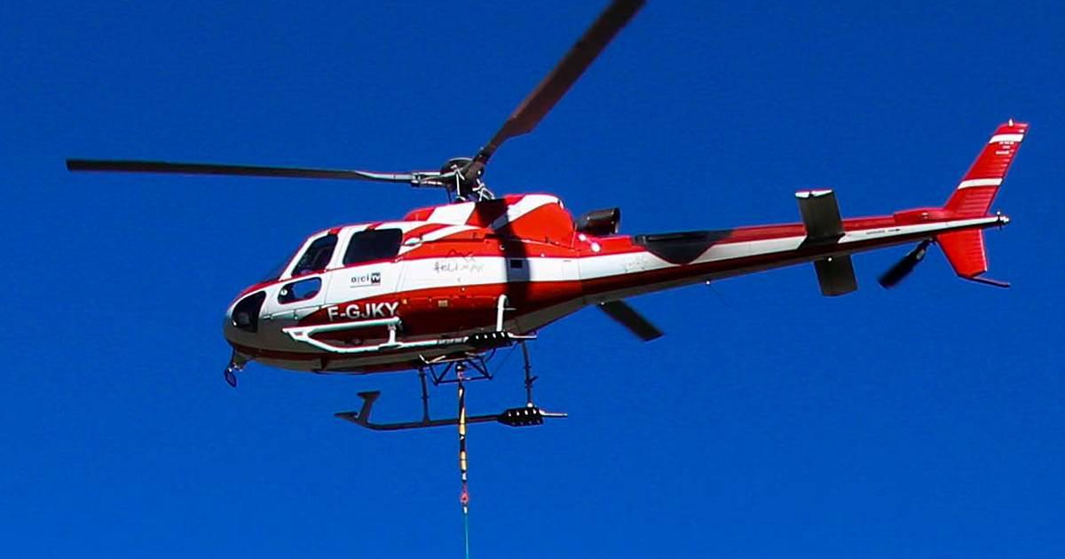 Vijf doden en zwaargewonde bij helikopterongeluk Frankrijk.