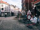 In de Rozemarijnstraat zijn er al wegenwerken en in de Molenstraat werden er al nutsleidingen heraangelegd.