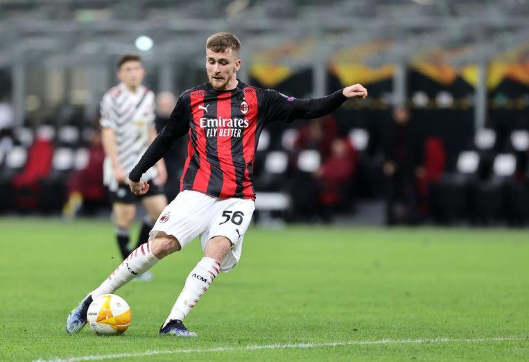 Alexis Saelemaekers (AC Milan). Beeld Photo News