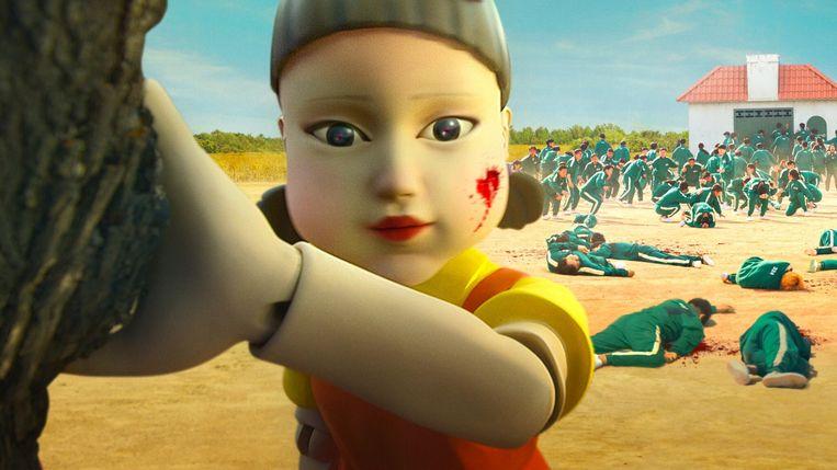 Binnen een paar weken schopte Squid Game het tot de meestbekeken Netflixserie in negentig landen. Beeld Netflix