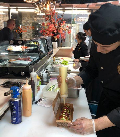 Sushi takeaway in voormalige Veghelse slagerij