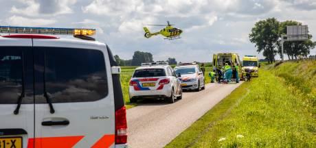 Fietser ernstig gewond geraakt door val  in Roosendaal