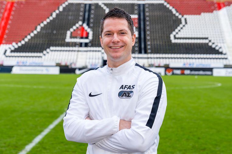 Sportpsycholoog Bart Heuvingh: 'Ik heb hele goede spelers gezien die het door een slechte mindset niet hebben gered in het voetbal'. Beeld Ed van de Pol