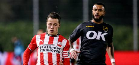 Tijn Daverveld knokt zich na blessure terug bij Jong PSV en is meteen aanvoerder