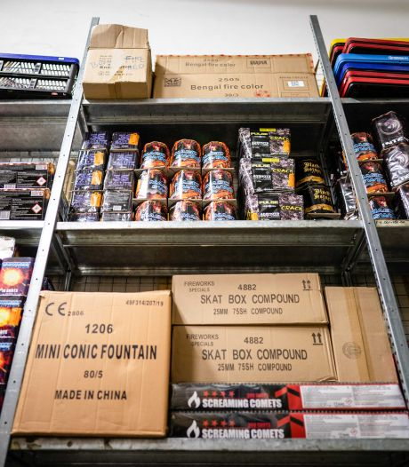Vuurwerkverbod nu definitief: compensatiepakket van 40 miljoen voor handelaren