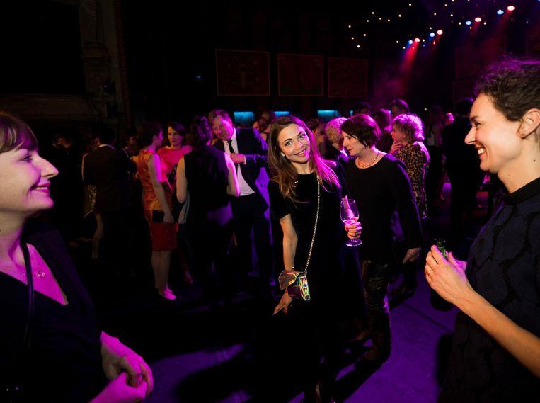 Georgina Verbaan op de dansvloer Beeld anp