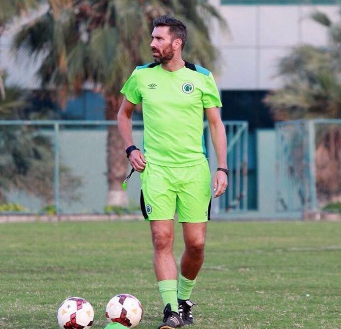 Johan Gabriëls in Dubai.