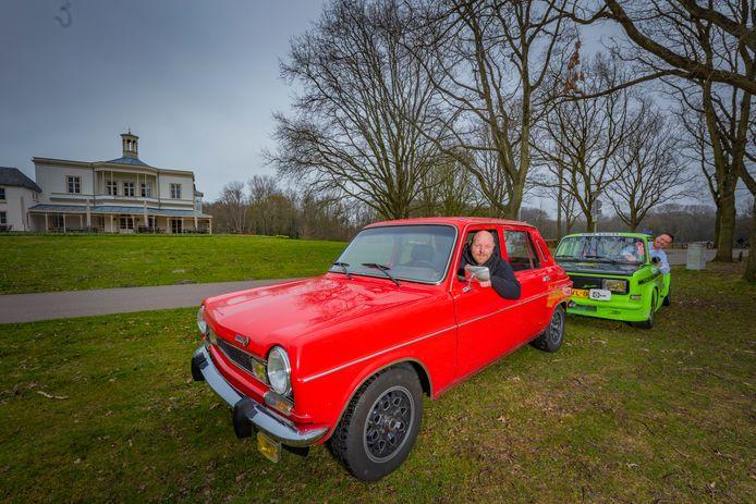 De Simca's van Ruud  Bubbert en Marc van den Belt