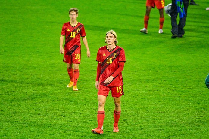 Première sélection douloureuse pour Sebastiaan Bornauw qui a provoqué le penalty qui a permis à la Côte d'Ivoire d'égaliser.