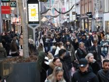 Veel te druk in Eindhovense binnenstad vanwege Black Friday