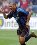 Ronaldo in het shirt van Inter.