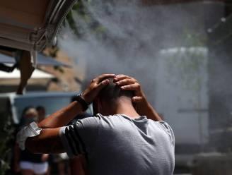 """Einde van verzengende hitte nog niet in zicht in Griekenland, vandaag op sommige plekken 45 graden: """"Ergste hittegolf in ruim 30 jaar"""""""