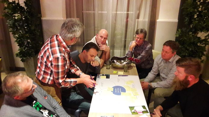 Inwoners van Bronckhorst brainstormen over de vraag hoe de gemeente in elf jaar energieneutraal kan worden.