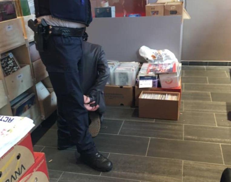 De arrestatie.