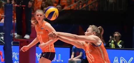 Volleybalsters na sterke start opnieuw onderuit in Nations League