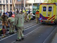 Scooterrijder gewond bij botsing met tram in Schiedam