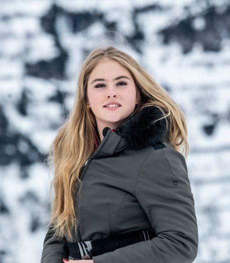 Wintersportfoto siert omslag van Amalia-boek