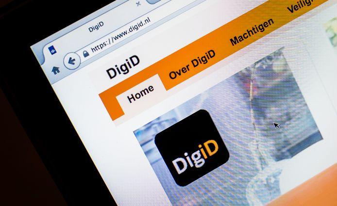 In de phishingmail wordt gevraagd in te loggen met je DigiD op MijnOverheid.