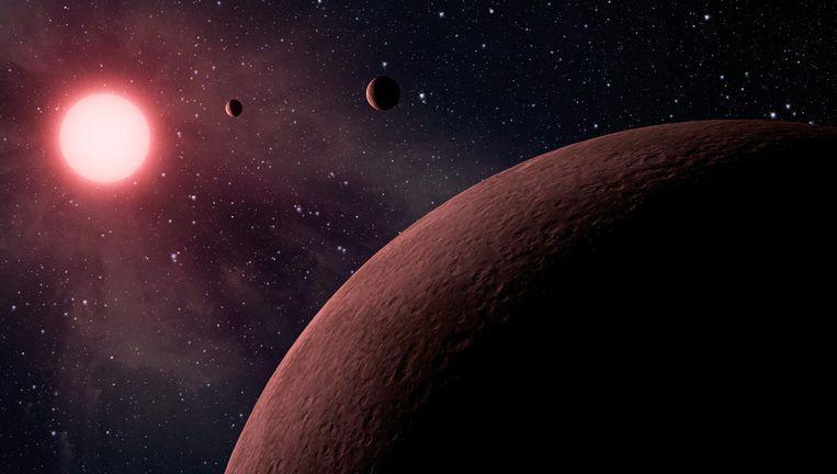 Impressie van een exoplaneet Beeld epa