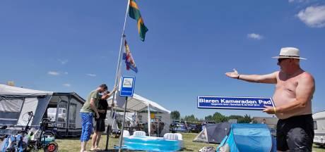 De Blaren Kameraden zijn weer thuis op de Vierdaagsecamping in Weurt