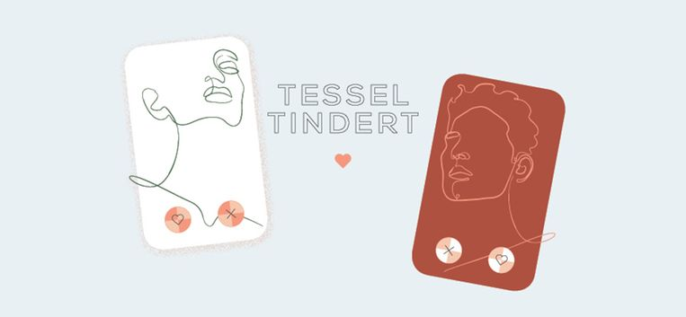 """Tessel: """"Was die man nou aan het flirten of zat hij me een beetje te pesten?"""""""