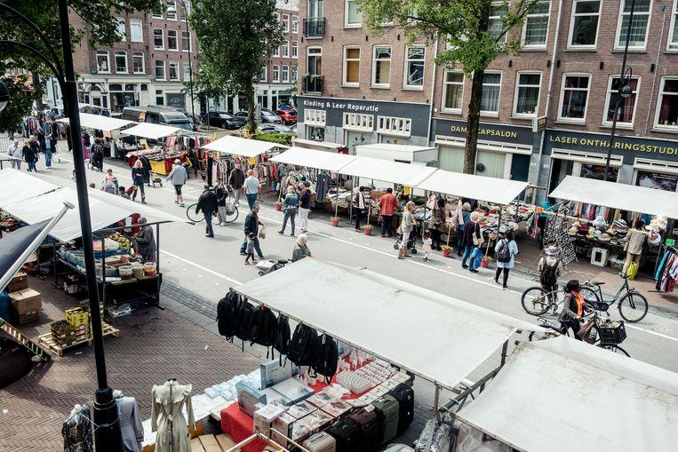 De Dappermarkt. Beeld Jakob Van Vliet