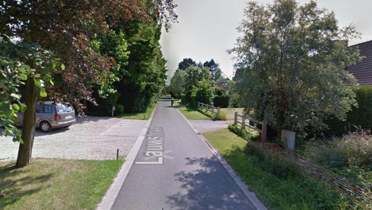 De brand vond plaats in de Lauwstraat in Sint-Denijs-Westrem.