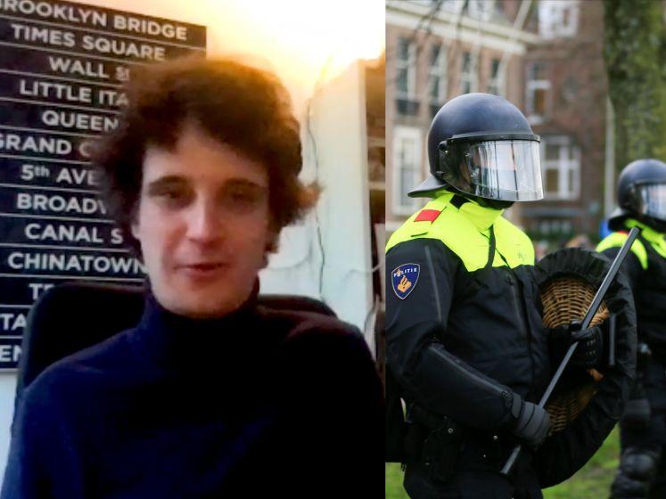 """Nederlandse Rutger ongerust over rellen: """"Dit zal doorgaan tot de verkiezingen in maart"""""""