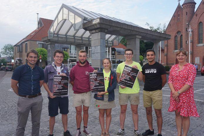 Het gemeentebestuur en de jeugdraad stellen een nieuwe editie van Kiosk Rock voor