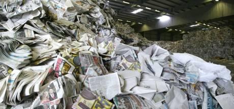 Boete voor containers met te weinig oud papier komt te vervallen
