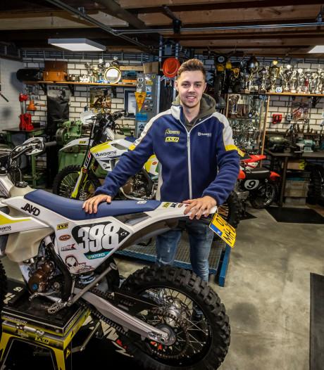 Jordi van Dijk uit Maarheeze is Nederlands kampioen enduro: 'Geen risico's, maar wel goed gas geven'