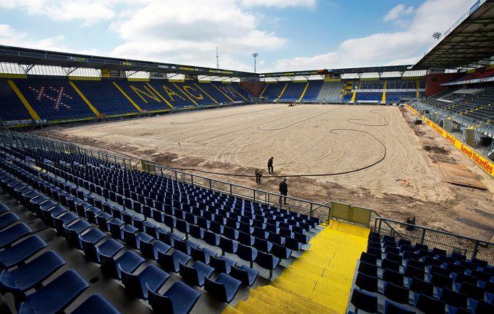 In juni 2013 werd voor het laatst de volledige grasmat in het Rat Verlegh Stadion vervangen.