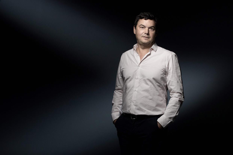 'Capitale et Idéologie' van Thomas Piketty is op donderdag in het Frans uitgebracht. Beeld AFP