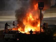 Hoe Romain Grosjean de horrorcrash in Bahrein heeft overleefd