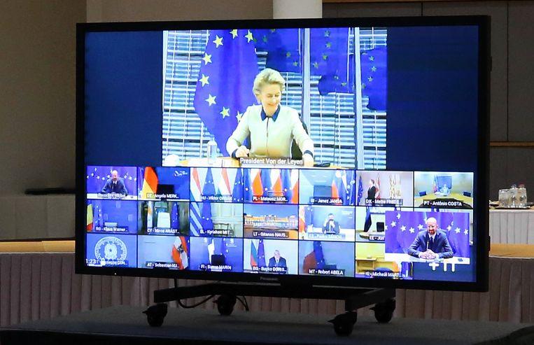 Zo ziet een Europese videotop eruit. Beeld Photo News