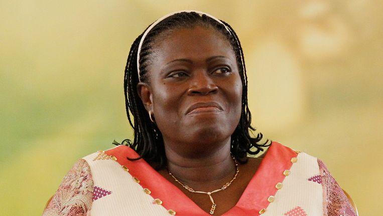 Ex-presidentsvrouw Simone Gbagbo (63) wordt gezocht voor onder meer moord en verkrachting. Beeld AP