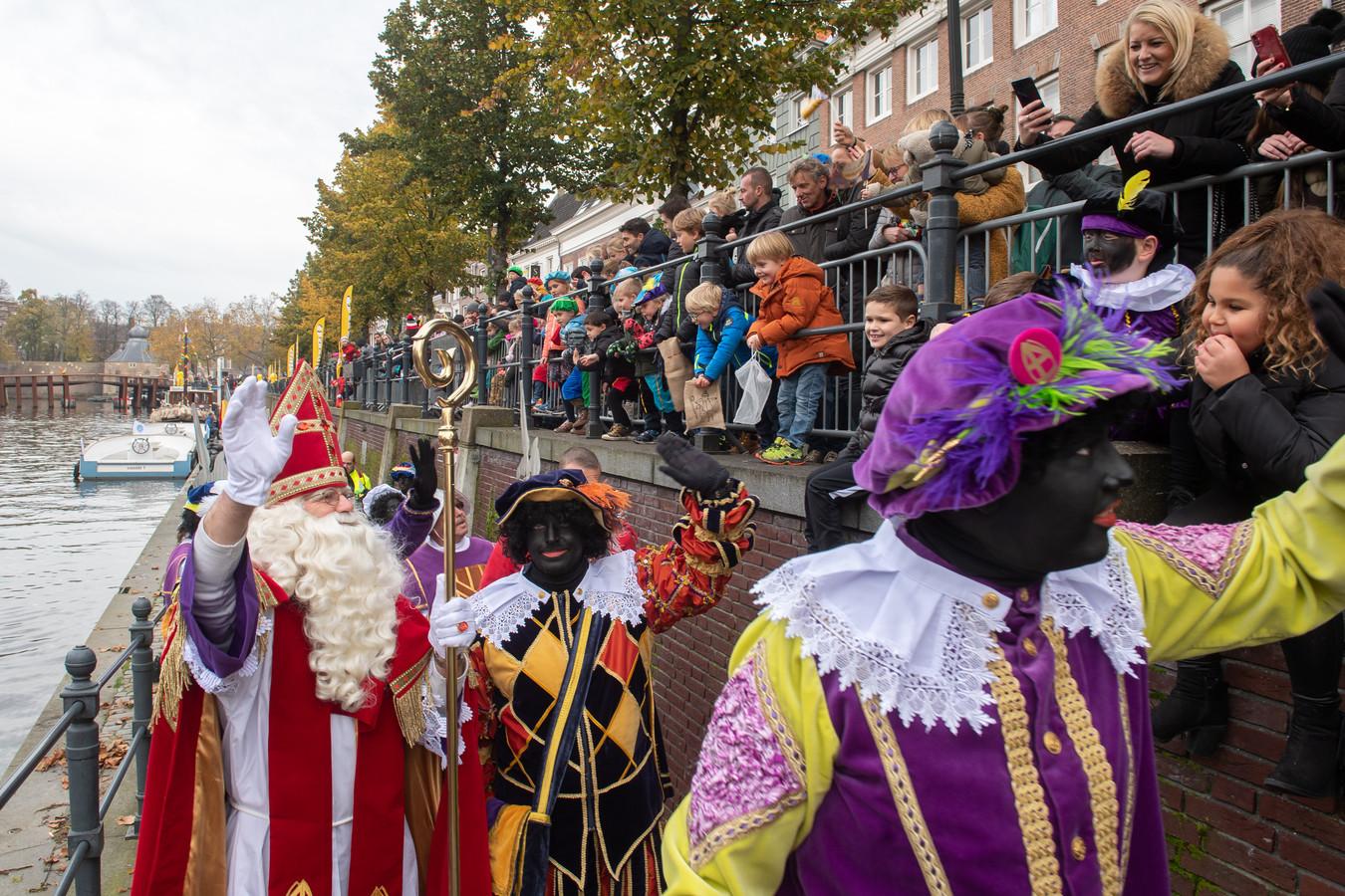 Intocht Sinterklaas in Breda.