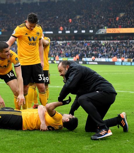 Boete voor juichende Wolves-coach Nuno