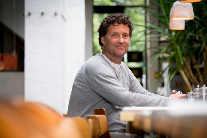 Christian Michiels in restaurant Cosma in Mechelen