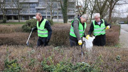 """Halle, Dilbeek, Beersel en Sint-Pieters-Leeuw roepen de hulp in van 56.359 gezinnen: """"Ruim allemaal minstens vijf minuutjes zwerfvuil, a.u.b."""""""