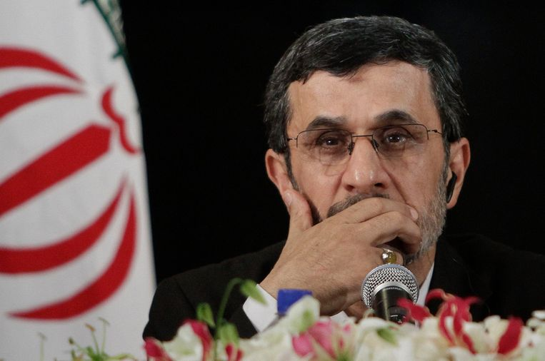 Oud-president Mahmoud Ahmadinejad. Beeld AP