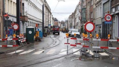 Tram vanaf donderdag weer door de Burgstraat