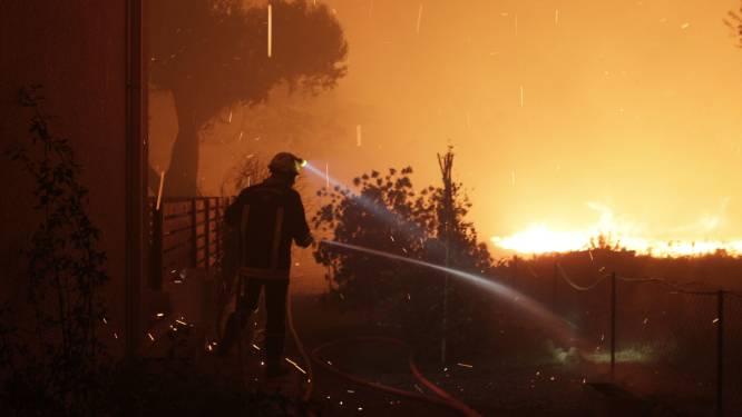 Meer dan 700 mensen geëvacueerd op Corsica door bosbranden