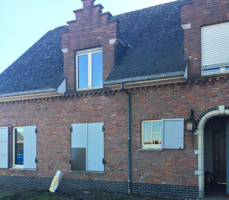 De woning raakt beschadigd. Er waren wel geen instabiliteitsproblemen.