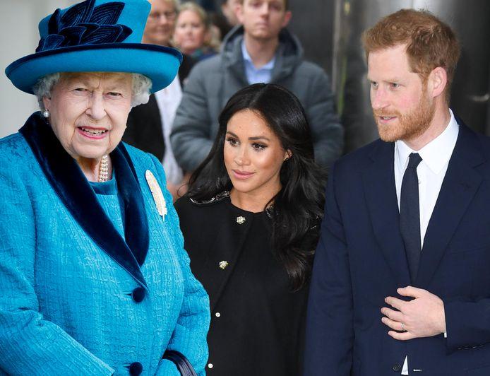 De situatie tussen de Britse Queen en prins Harry en Meghan lijkt andermaal te escaleren.