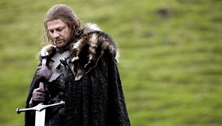 Eddard Stark Beeld HBO