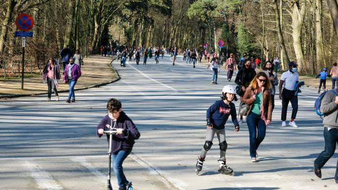 Enkele honderden fietsers eisen extra versoepelingen voor jeugd in Ter Kamerenbos
