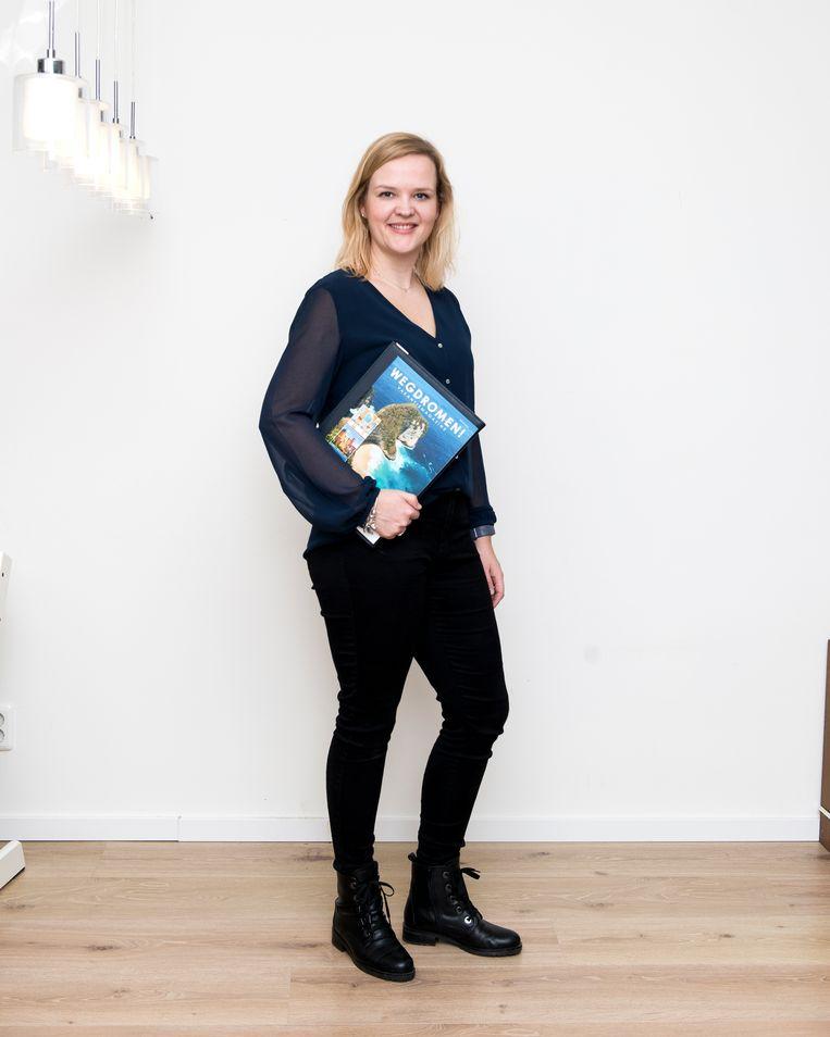 Zelfstandig reisagent Ellen van Adrichum  Beeld Eva Faché