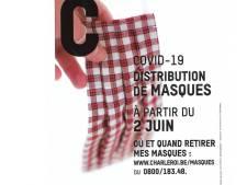 Téléphone hors service, page web inexistante... La saga des masques continue à Charleroi